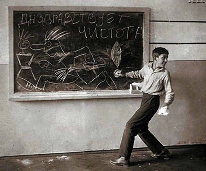 Юрий Никулин. Актер любил радовать одноклассников