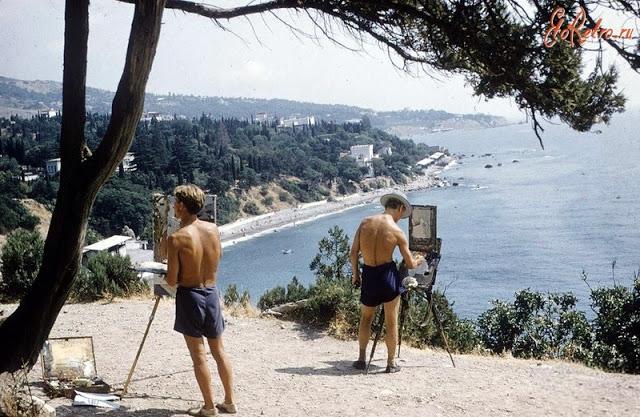 Виды в Крыму, 1958 год