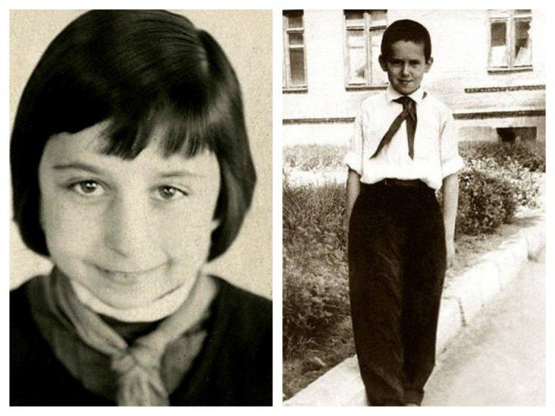 10 школьных фотографий советских звезд из личного архива Садальского