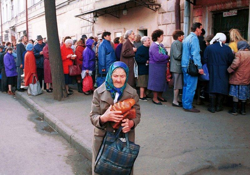 Рожденные в СССР, повзрослевшие в очередях