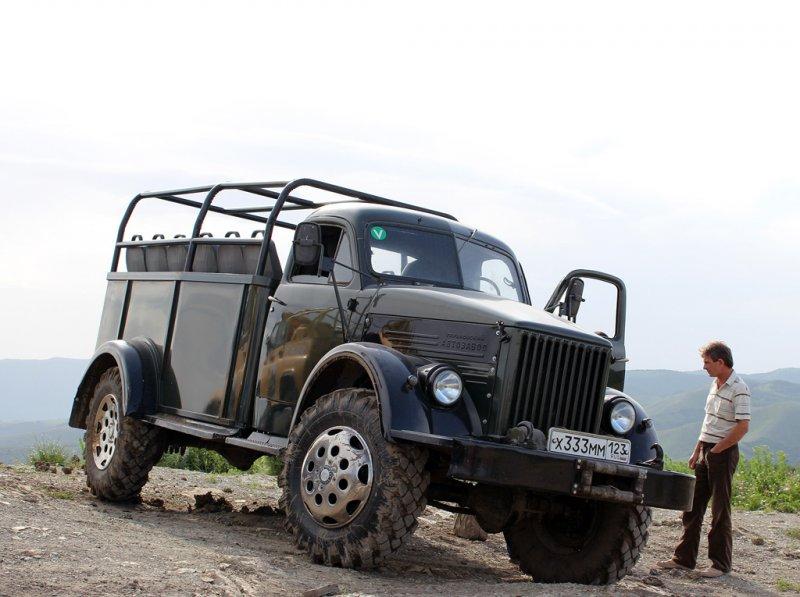Восставший из запчастей: умельцы отреставрировали ГАЗ-63