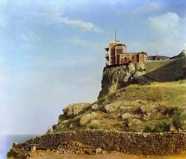 """""""Ласточкино гнездо"""", Крым, 1905 год"""