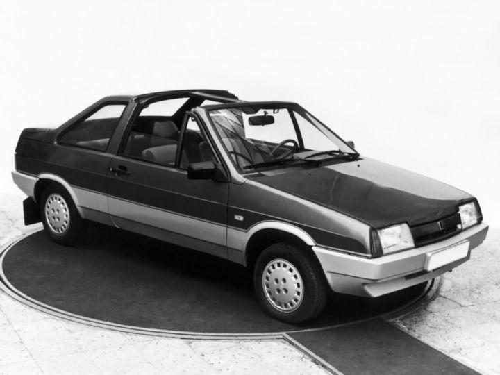 """ВАЗ-2108 в кузове """"Тарга"""" в 1988 году, опытный образец"""