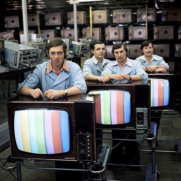 Завод по выпуску дефицитных телевизоров, 1970–е