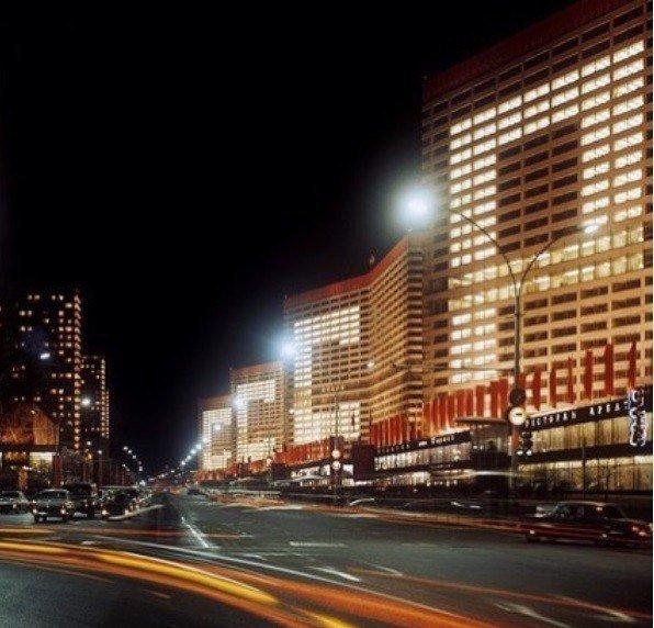 Москва никогда не спит, нынешний Новый Арбат, 1967 год