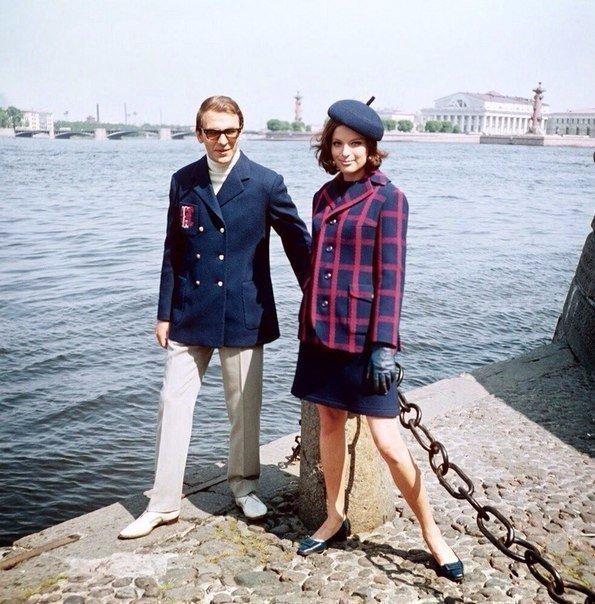 Модные люди, конец 1960-х годов