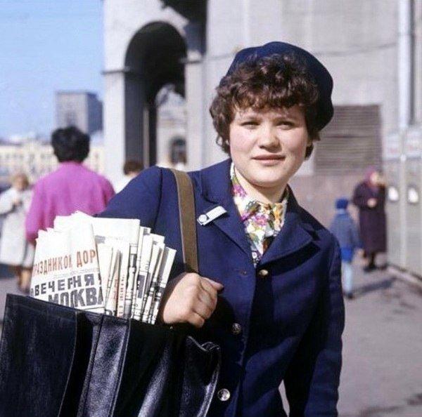 А помните раньше газетки носили в почтовые ящики!