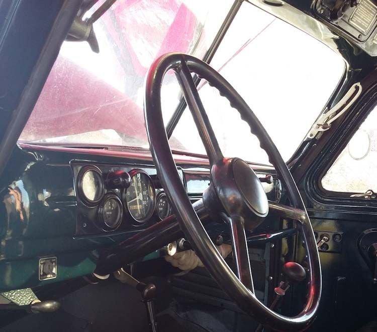 Вот так отреставрировали кабину ГАЗ-63