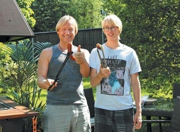 Дмитрий Харатьян с сыном