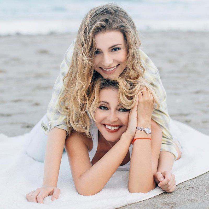 Анжелика Варум с дочерью