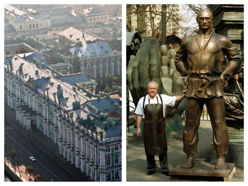Памятник рукотворный: Церетели задумался над монументом Путина Санкт-Петербург, зураб церетели, памятник, политика, путин, скульптура