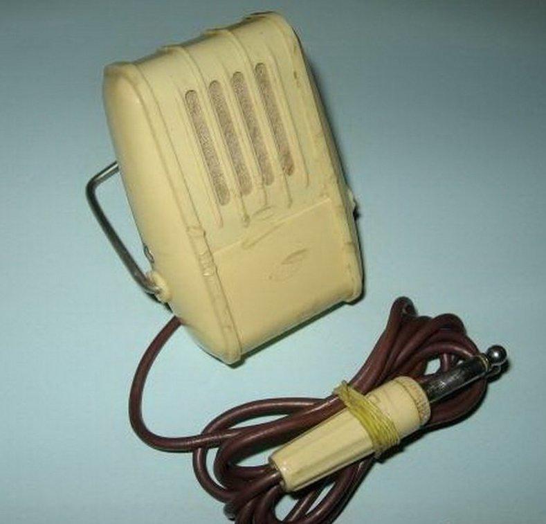 3. Советский микрофон со старым разъемом