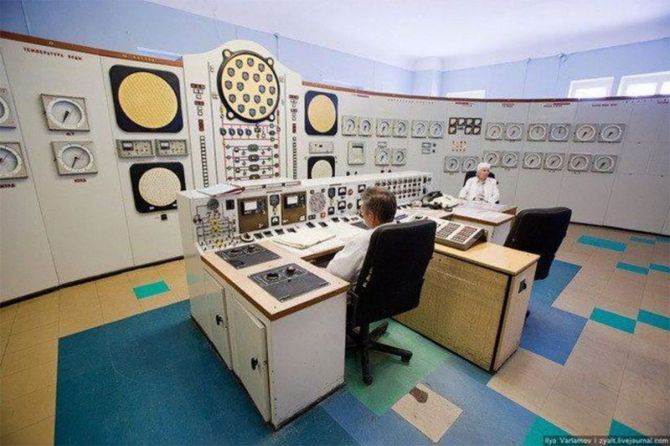 Тотальный контроль: советские пункты управления заводами и электростанциями