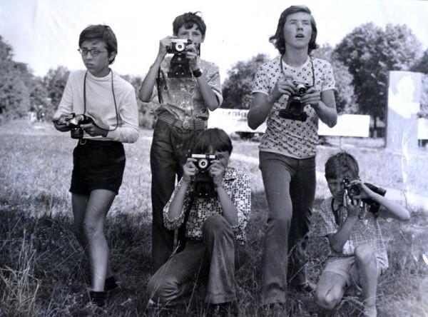 """Фотокружок, сейчас бы его назвали """"Юный папарацци"""""""