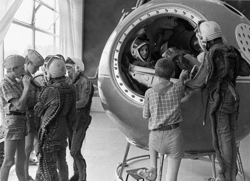 Кружок юных космонавтов - самый востребованный в СССР
