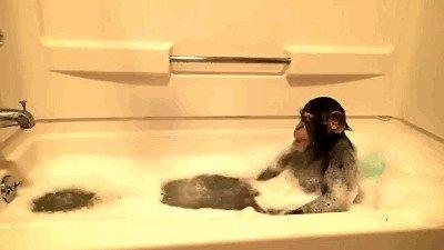 Осень - хорошее время для принятия теплых ванн