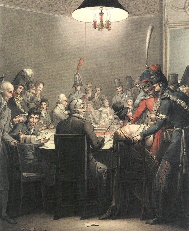 Как казаки наследили в Париже