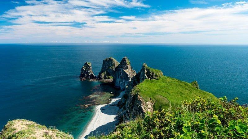 Командорские острова в Тихом океане