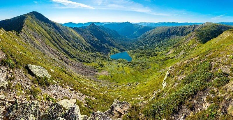 Необыкновенные Саяны на юге Сибири