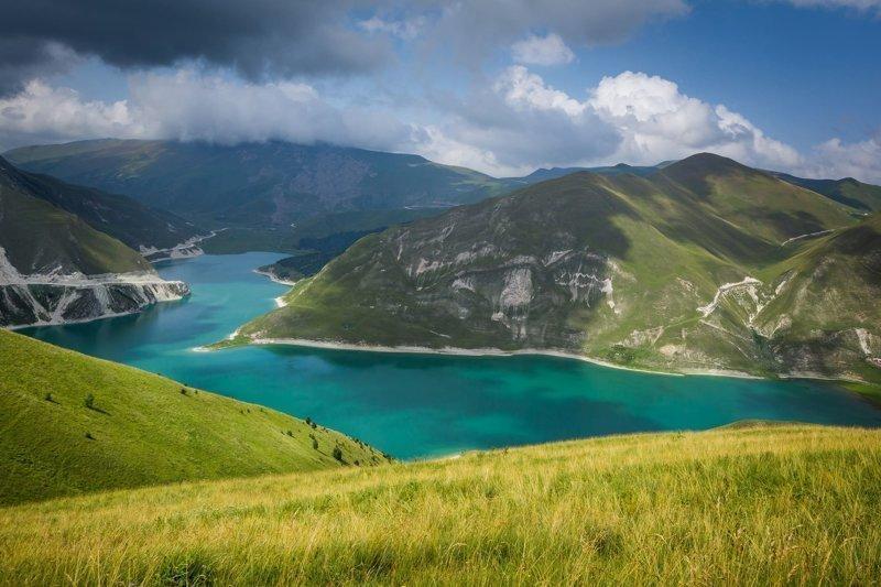 Гидрологический памятник природы - озеро Кезеной-ам в Чечне