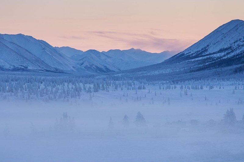 """Для любителей прохлады - """"Полюс холода"""" в Якутии"""