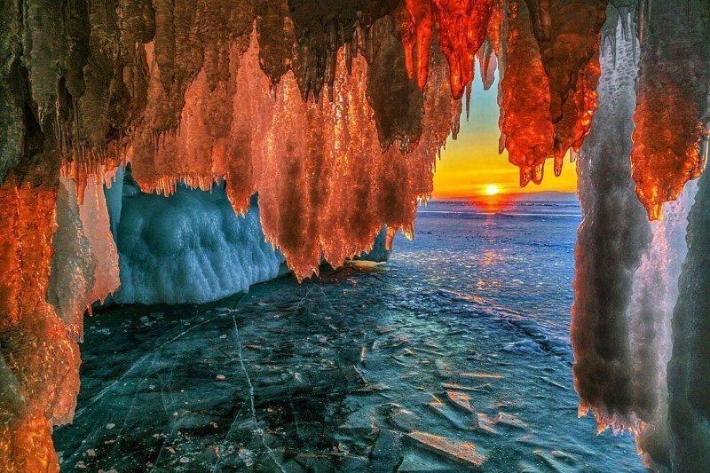 Уникальное озеро Байкал