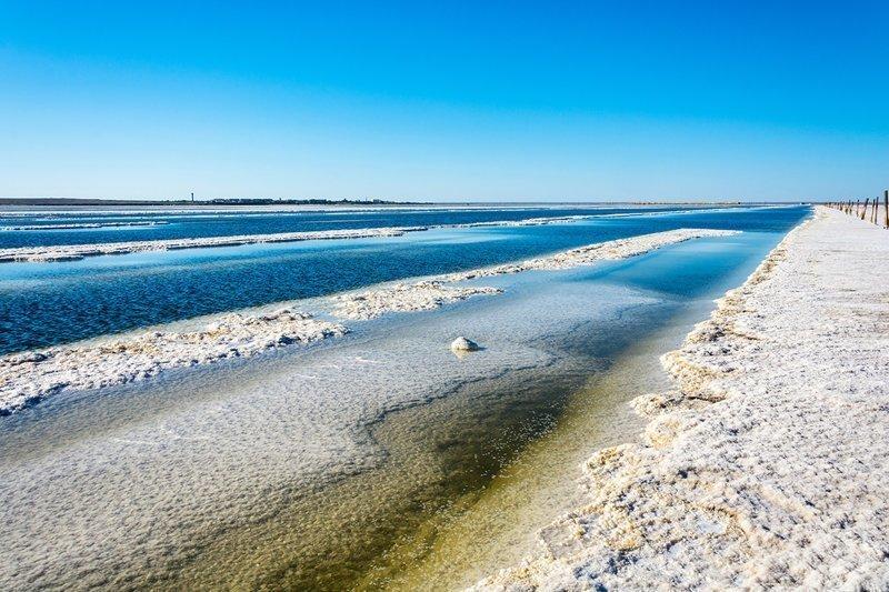 Соленое озеро Баскунчак, Астраханская область