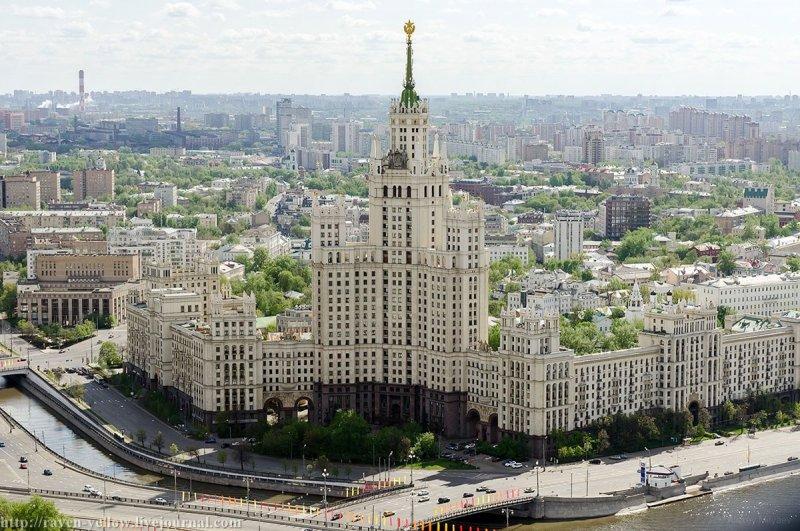 7 холмов древней Москвы вчера и сегодня