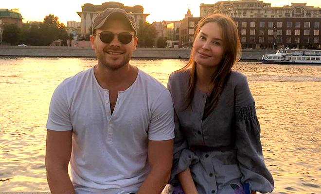 Эмин Агаларов, 38 лет, и его жена Алена Гаврилова, 31 год