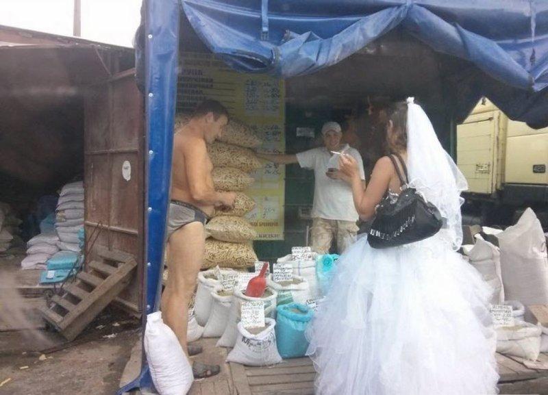 Свадьба у нас будет на широкую ногу
