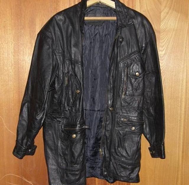 4. Кожаная куртка