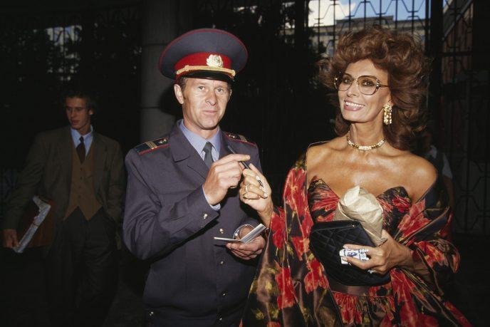 Некоторые остатки советского времени выглядели немного... смешно