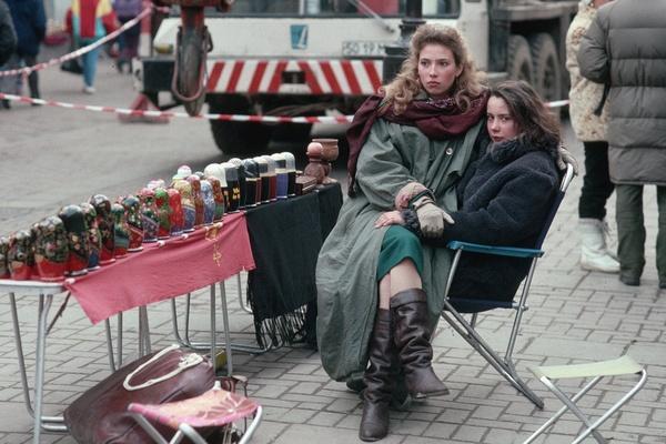 В Россию пришла иностранная мода, и приехали иностранцы