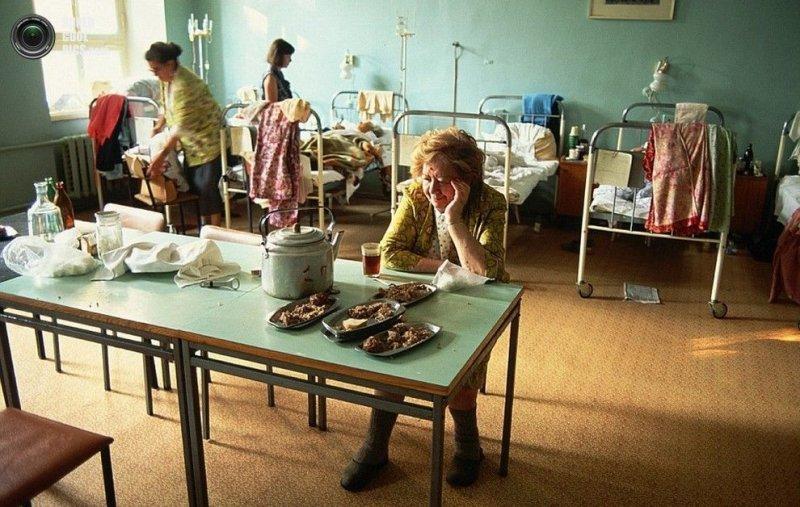 Вот так выглядели больницы в 1991 году