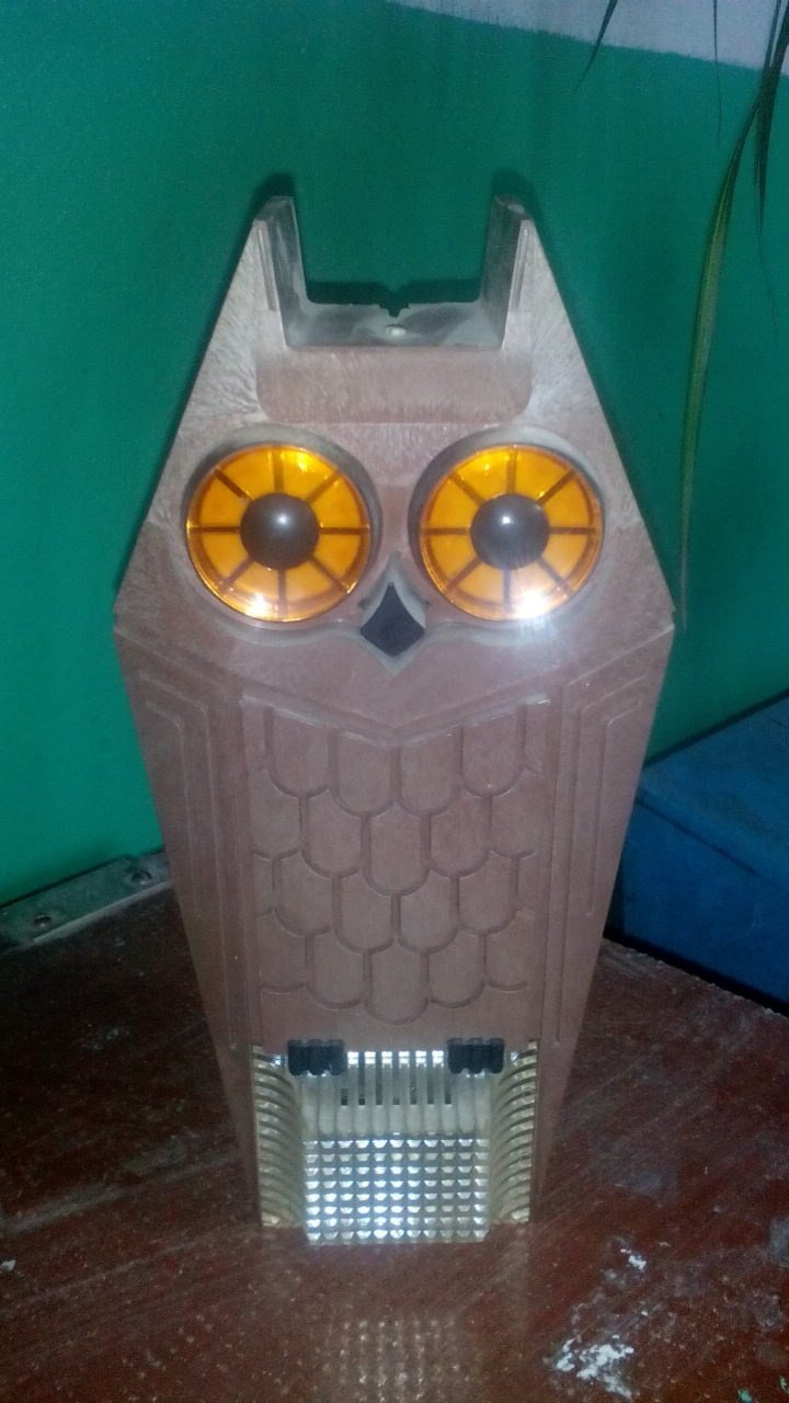 """Конечно, пугливым советский светильник """"Сова"""" лучше дома не устанавливать, для всех остальных - чудесный прибор"""