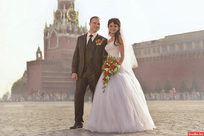 Русская современная свадьба