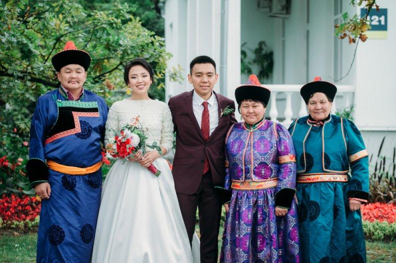 Свадьба в Бурятии