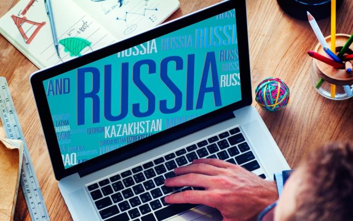 По оценкам IT-специалистов, в мировой сети русский по распространенности стоит на втором месте после английского.