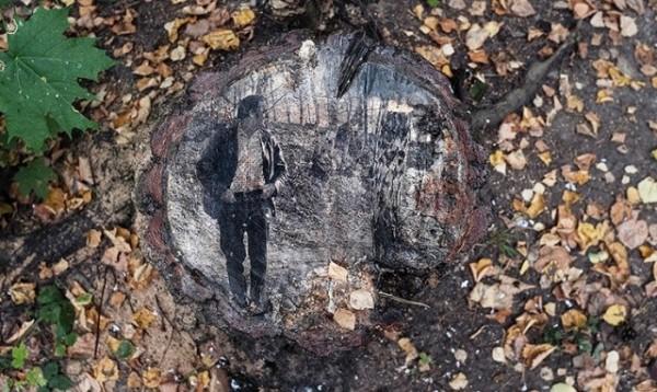 Лес в Переделкино стал маленькой арт-резиденцией
