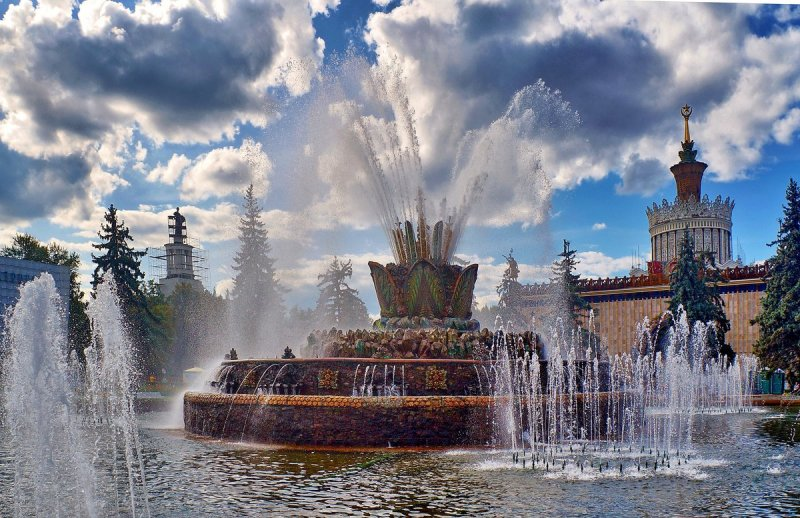 До скорой встречи: В Москве закроют два главных фонтана СССР москва, реставрация, фонтаны