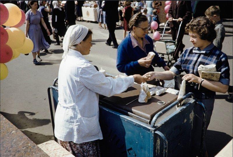 В Москве появился настоящий культ мороженого