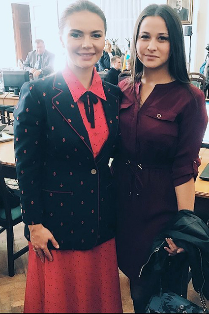 Алина Кабаева – кандидат наук