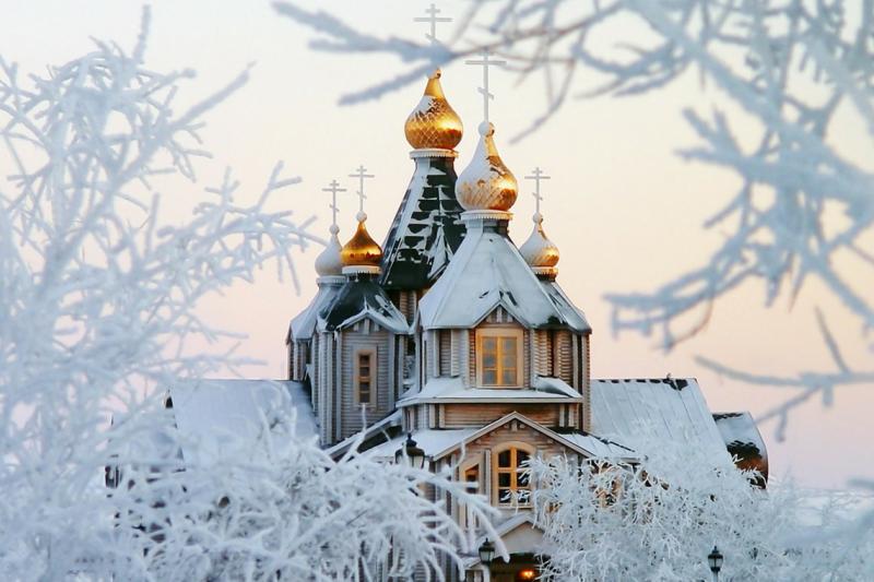 Как выглядит настоящая русская зима