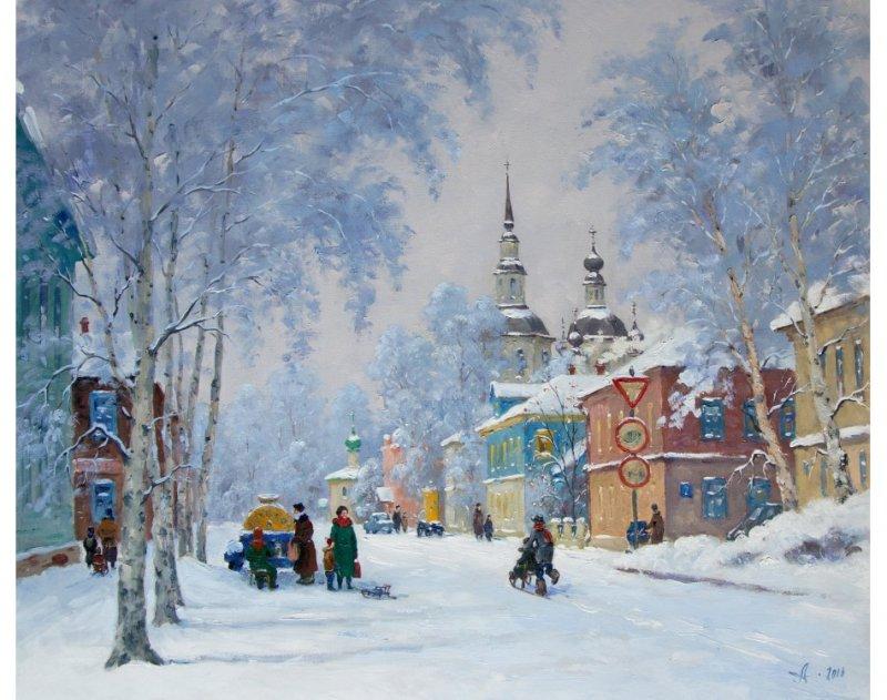 Зима вдохновляет на творчество