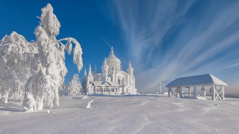 Вот она, прекрасная зима! Мороз и солнце, день чудесный!