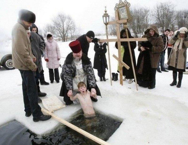 Крещенские купания, уже скоро во всех водоемах России!