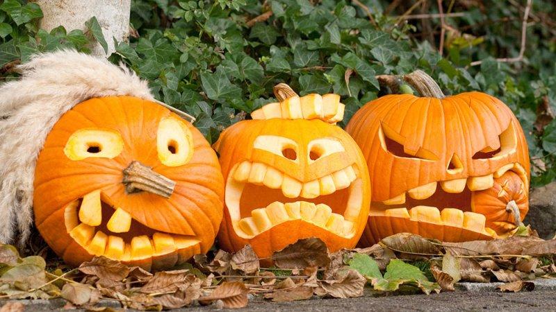 Котлеты с осенней тыквой на Хэллоуин