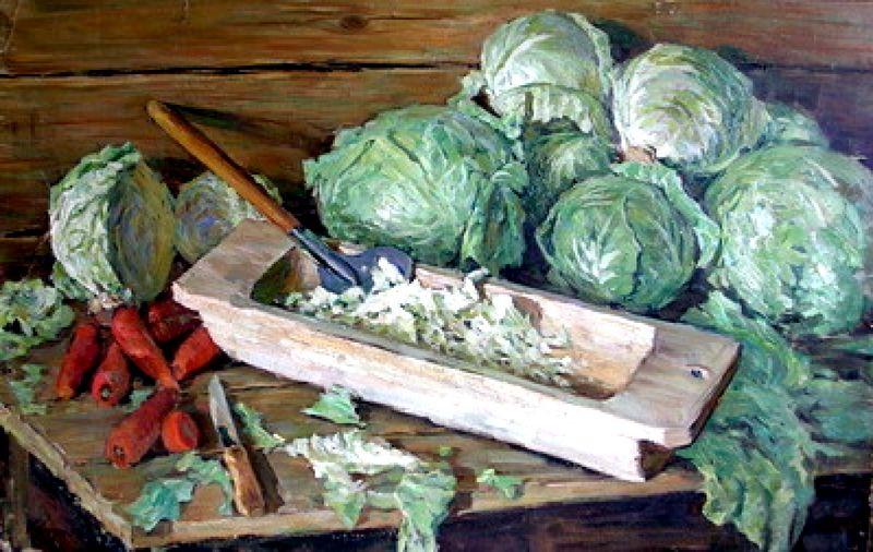 Пока вы еще не приступили к приготовлению, хотела напомнить об истории капусты.
