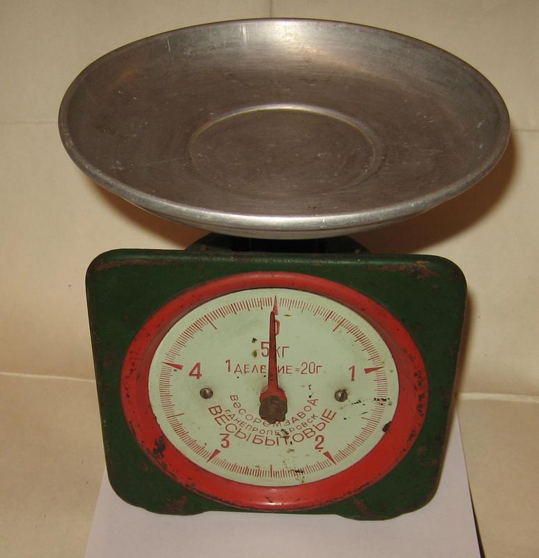 Советские весы - взвешивай сколько влезет, они вечные и точные