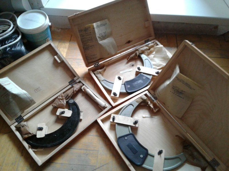 Микрометр - как символ советской изобретательности и запасливости